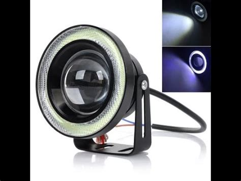 Drl Cob Universal Strobo N Stenbay ijdmtoy high power led fog lights with led halo rings doovi