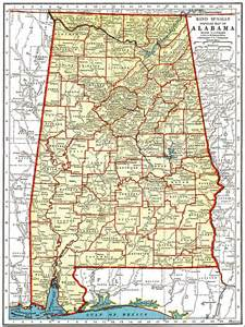 road map of alabama mapping out your travel plans