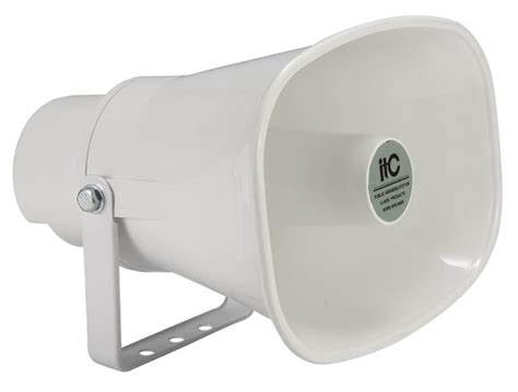 Wall Speaker Toa 6 Watt outdoor 15w 100v horn speaker ip66 7 5 15w edwards auckland