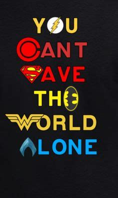 Kaos Superheroes Justice League You Can T Save The World Alone justice league you can t save the world alone