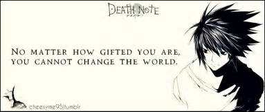 Quotes About L by Ryuzaki Note Quotes Quotesgram