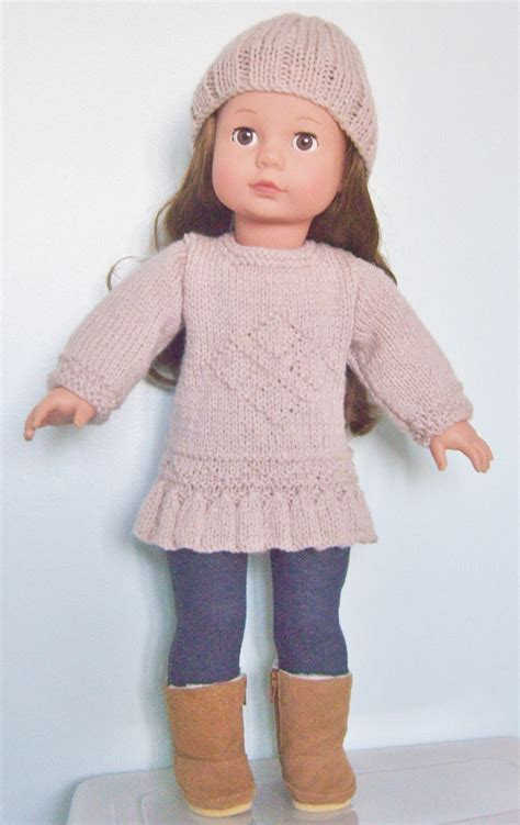Set Knit 13 american doll diamonds are forever set pdf knitting pattern no 13