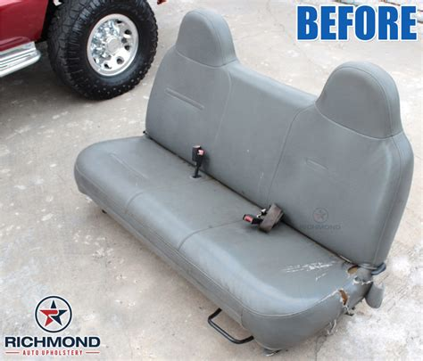 ford f250 bench seat replacement 2000 2002 ford f 250 xl vinyl lean back bench seat cover