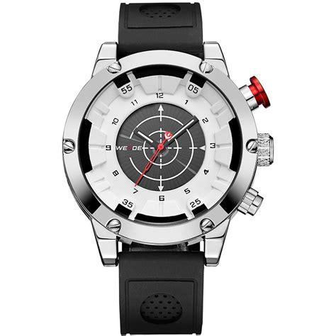 Jam Tangan Pria Black weide jam tangan analog digital pria wh6301 black