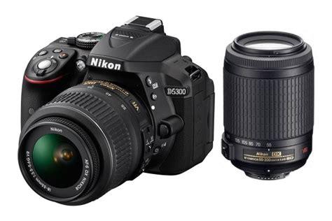 Dslr Nikon D5300 18 55mm Vr nikon d5300 dslr 18 55mm 55 200mm vr lens