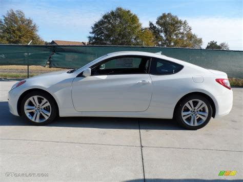 karussell white 2012 hyundai genesis coupe 2 0t exterior