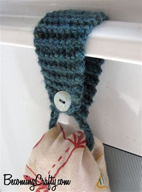 pattern for hand towel holder knit tea towel topper this is so much better than