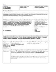 5e lesson plan science template 5e lesson plan template