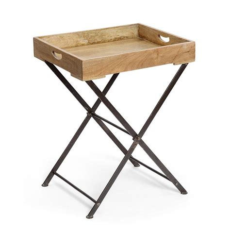 wooden tray table by within home notonthehighstreet