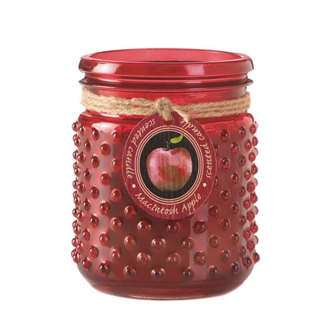 Candle Jars Wholesale Wholesale Macintosh Apple Hobnail Jar Candle Buy