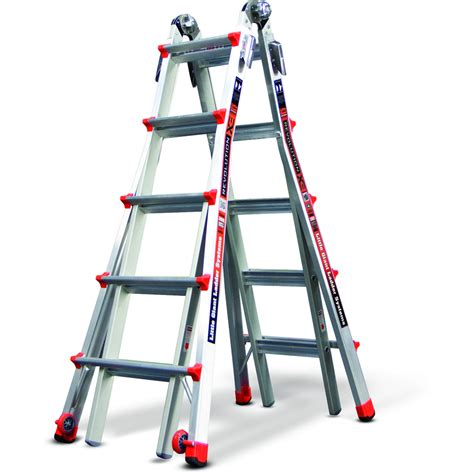shop ladders revolution aluminum type 1a 300 lb telescoping ladder at lowes