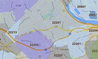 arlington zip code map three arlington zip codes named area s wealthiest arlnow