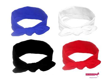 Knot Basic Headband Knotted Cotton Bow Headband Basic 4 Pack
