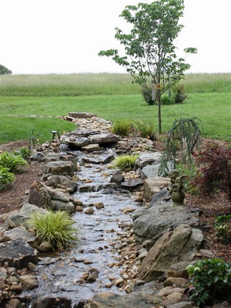 drainage ditch in backyard 42 best dry creek beds images on pinterest landscaping