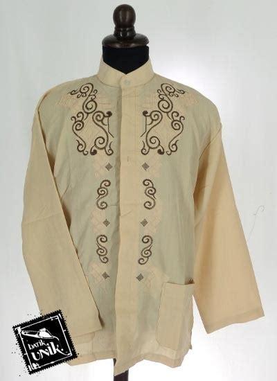 Baju Muslim Dewasa Batik Baju Muslim Koko Panjang Dewasa Katun Bordir Koko Batik
