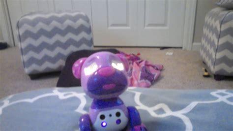 my growls at me robot growls at me whenever i bring my near him