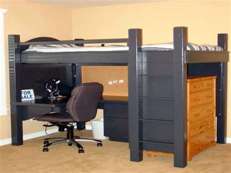 full size loft bed with desk for adults edgy adult loft beds with desk design ideas