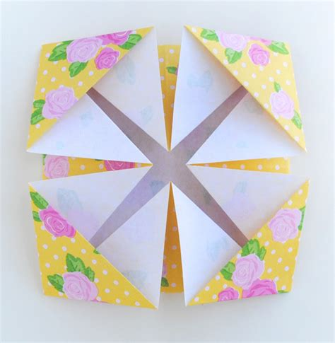 Origami Birthday Decorations - zakka origami tea packet favors