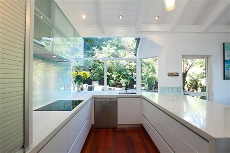 designer kitchen splashbacks small space presents design challenge glassart