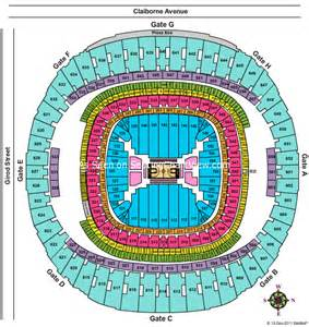 Mercedes Superdome Football Seating Chart Mercedes Superdome New Orleans La Seating Chart View