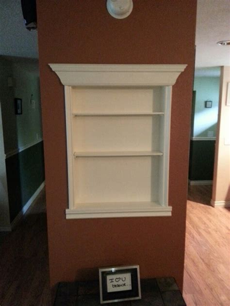pin recessed shelf project on