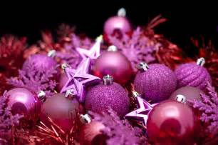 background of pink christmas decorations 6334 stockarch