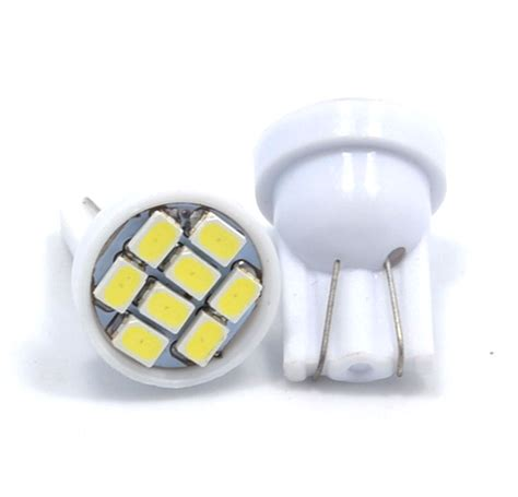 lade t10 t10 led wedge 8 smd 1210 smt shine graffix