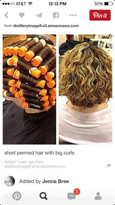 what size perm rods for loose spiral 82 best perms images on pinterest hair perms hairstyles