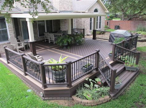 backyard porches and decks decks patios jr d construction
