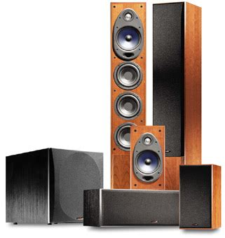 home theater sound equipment review polk audio rti150