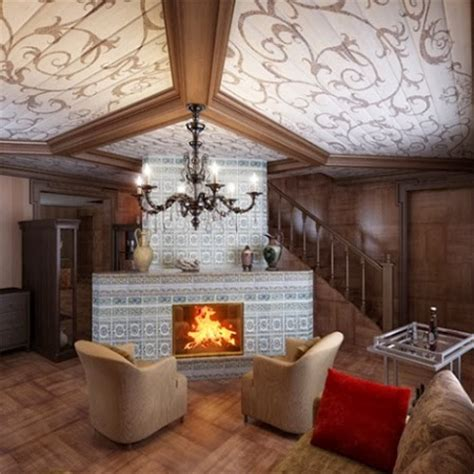 Country Cottage Fireplaces by Country House And Cottage Living Room Style Ideas