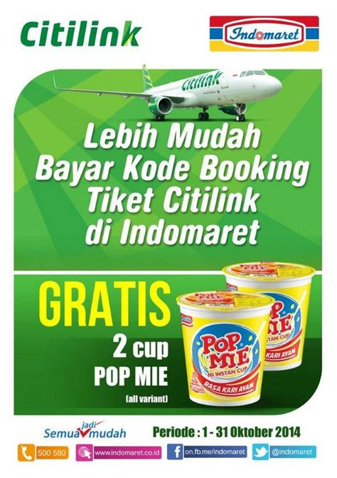 citilink kode booking indomaret point on twitter quot bayar kode booking tiket