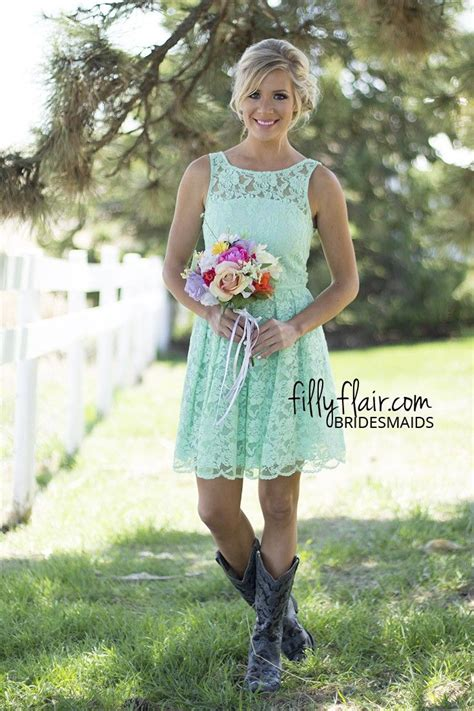 country dresses to wear with boots white wedding dresses with cowboy boots