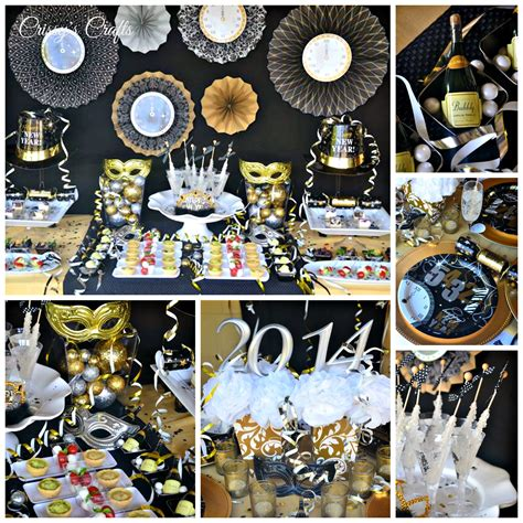 themes for new year house party crissy s crafts new years eve party ideas