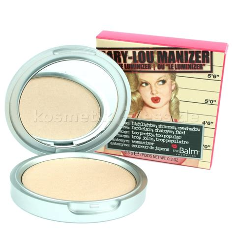 The Balm Manizer Highlighter the balm lou manizer highlighter luminizer