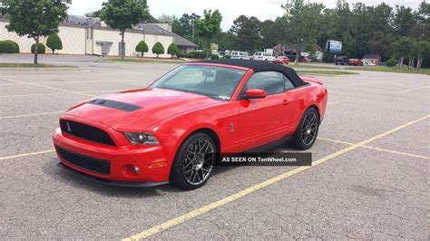 2012 Mustang V8 2012 ford mustang shelby gt500 race convertible 5 4l