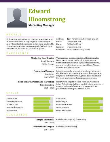 modern resume templates 64 exles modern resume templates 64 exles free download