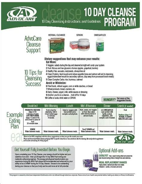 10 Day Detox Diet Challenge by 108 Best Advocare Images On Advocare