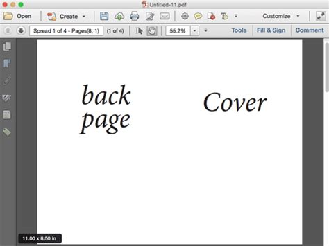 how to print to booklet in indesign book design doovi creating a pdf from indesign s print booklet feature