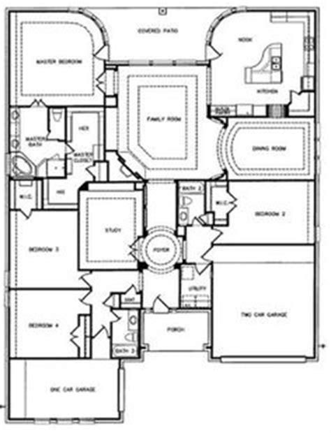 village builders floor plans exterior entry floorplan on pinterest custom homes
