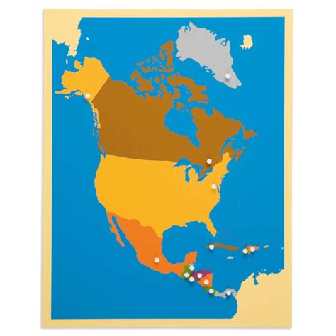 puzzle map north america nienhuis montessori