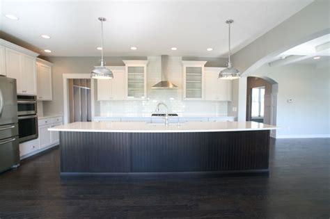 kitchen island heights a single level island gives clear sight to the