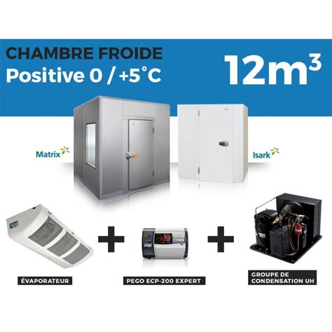 chambre positive chambre froide positive 12m3 224 3 799 00 ht chez thermofroid distribution