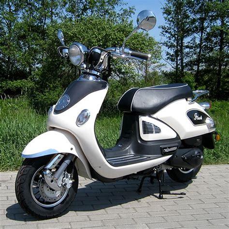 Motorrad Und Scooter Handel Oelde by Motorroller 50ccm Retro Roller Mit 45 Km H Flash Weiss