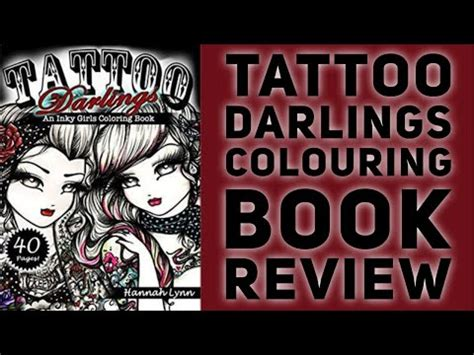 book tattoo nightrunner by lynn flewelling youtube tattoo darlings by hannah lynn colouring book review