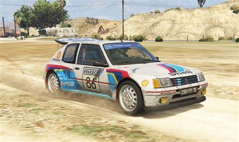 peugeot turbo 2016 peugeot 205 turbo 16 2in1 add on tuning livery