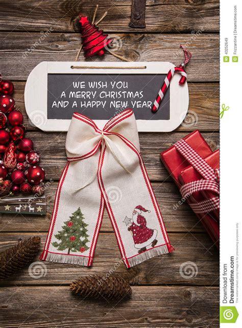 xmas card     merry christmas   happy  year stock photo image