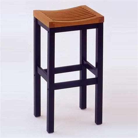 Solid Oak Bar Stools home styles furniture solid hardwood 24 black cottage oak