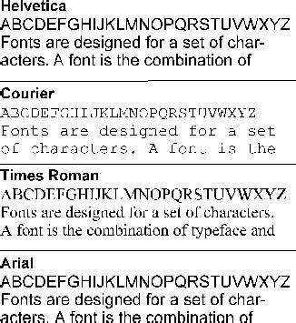 what is font? webopedia definition