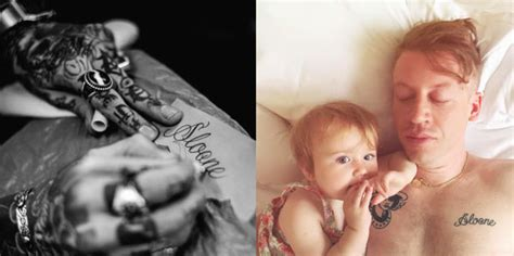 celebrity tattoos 17 celeb parents with a kid inspired